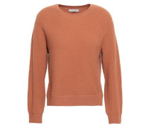 Wool And Cashmere-blend Sweater Light Brown