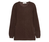Mohair and silk-blend sweater