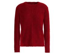 Mélange Knitted Sweater Merlot