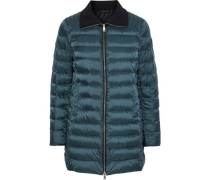 Whiston Quilted Shell Down Jacket Grey Green