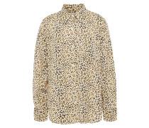Woman The Derby Leopard-print Twill Shirt Animal Print