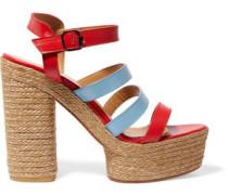 Adalia leather platform sandals