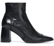 Leather Ankle Boots Black