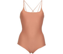 Kilauea Cutout Swimsuit Antique Rose