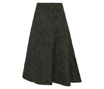 Mina cloqué-jacquard skirt