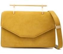 Indre Suede Shoulder Bag Mustard Size --