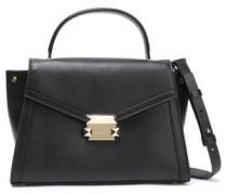 Whitney Leather Shoulder Bag Black Size --