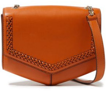 Lou Leather Shoulder Bag Tan Size --