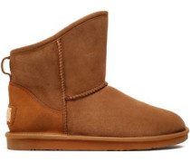 Cosy Shearling Ankle Boots Tan