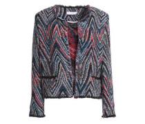 Cotton-blend tweed jacket