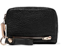 Fumo Textured-leather Wallet Black Size --