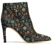 Olette brocade ankle boots