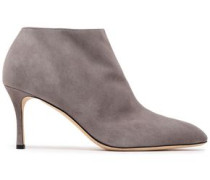 Royal Suede Ankle Boots Taupe