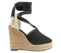 Woman High Heel Espadrilles Black