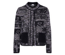 Cotton-blend jacquard jacket