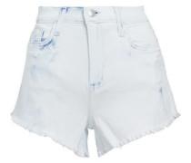 Zoe distressed denim shorts