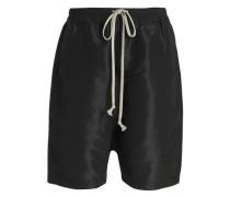 Knee Length Shorts Black