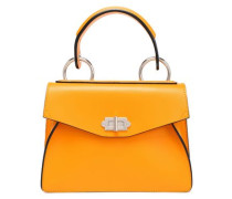 Leather Tote Marigold Size --