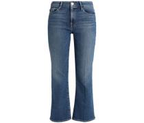 High-rise Kick-flare Jeans Mid Denim  7