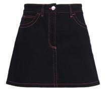 Denim Mini Skirt Black  6