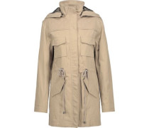 Atticus cotton-blend hooded jacket