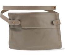 Pocket Leather Belt Bag Mushroom Size --