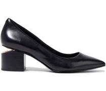 Simona Leather Pumps Black