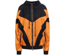 Shell Hooded Jacket Orange
