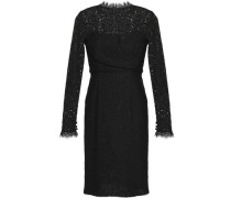Coco cotton-blend corded lace dress