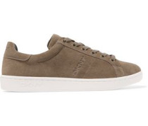 Clay suede sneakers
