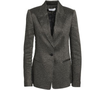 Duke Metallic Jacquard Blazer Gold