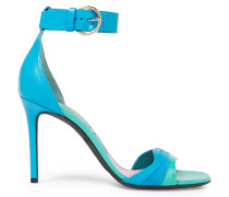 Suede, Smooth And Patent-leather Sandals