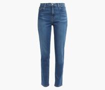 "Woman Ruby 30"" High-rise Slim-leg Jeans Mid Denim"