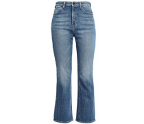 Grind High-rise Bootcut Jeans Mid Denim  6