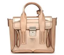 Pashli mirrored-leather shoulder bag