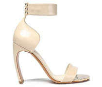Leather Sandals Beige