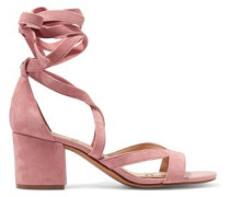 Sheri lace-up suede sandals