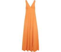 Fanina embellished crepe gown
