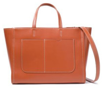 Woman Hudson City Leather Tote Tan
