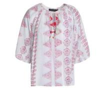 Annah printed voile tunic