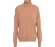 Cashmere Turtleneck Sweater Camel