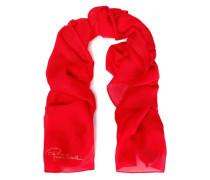 Silk-blend jacquard scarf
