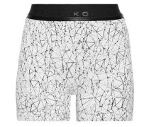 Surge Stretch-jacquard Shorts White