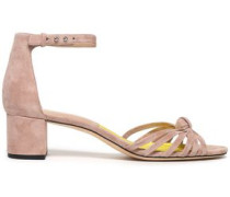 Fonseca knotted suede sandals