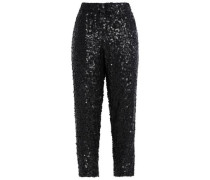 Aife sequined crepe tapered pants