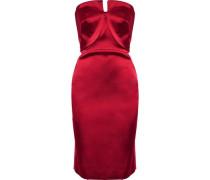 Strapless duchesse-satin dress