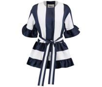 Wool-twill mini dress