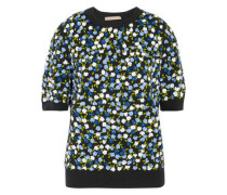 Embellished cashmere sweater