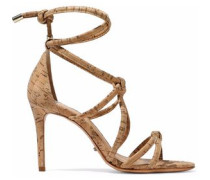 Nadia knotted cork sandals