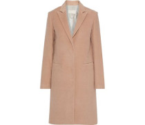 Woman Washed Cotton-twill Coat Blush